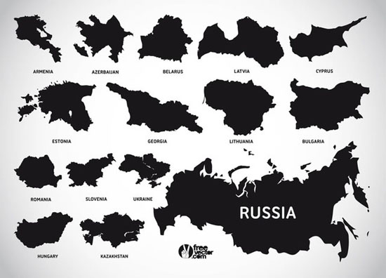550x396 40 Vector World Map Collection (Eps, Psd, Ai, Svg Amp Png)
