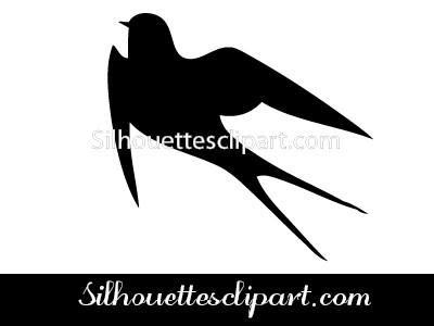 400x300 Swallow Vector Graphics Silhouettes Vector