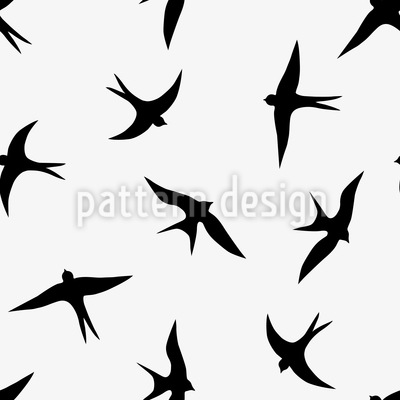 400x400 The Flight Of The Swallows Vector Design