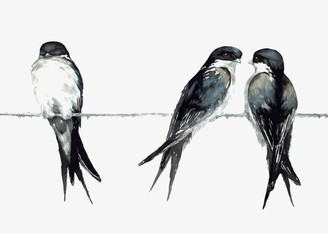 650x464 Vector Swallow, Chinese Style, Ink, Chinese Style Png And Vector