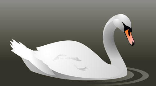 500x277 Swan Free Vector Download (69 Free Vector) For Commercial Use
