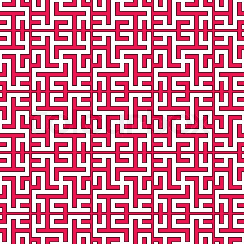 800x800 Seamless Traditional Geometrical Islamic Ornament With Swastika