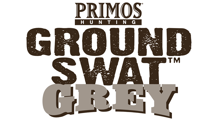900x500 Primos Hunting Ground Swat Grey Vector Logo