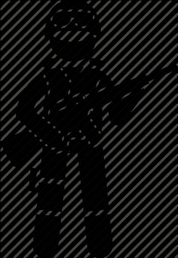 353x512 Soldier Vector
