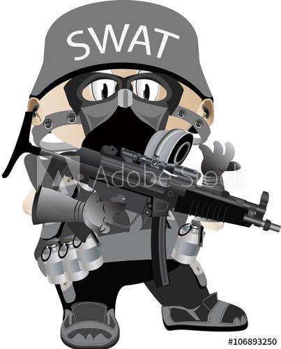 403x500 Vector Kid Swat