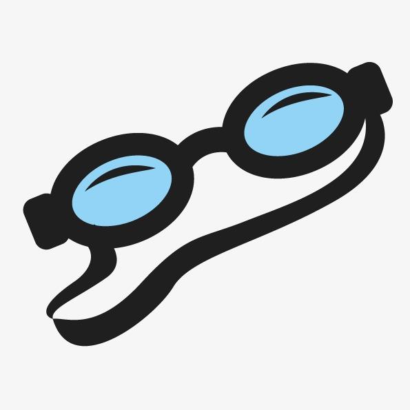 595x595 Vector Abstract Cartoon Goggles, Abstract Vector, Cartoon Vector