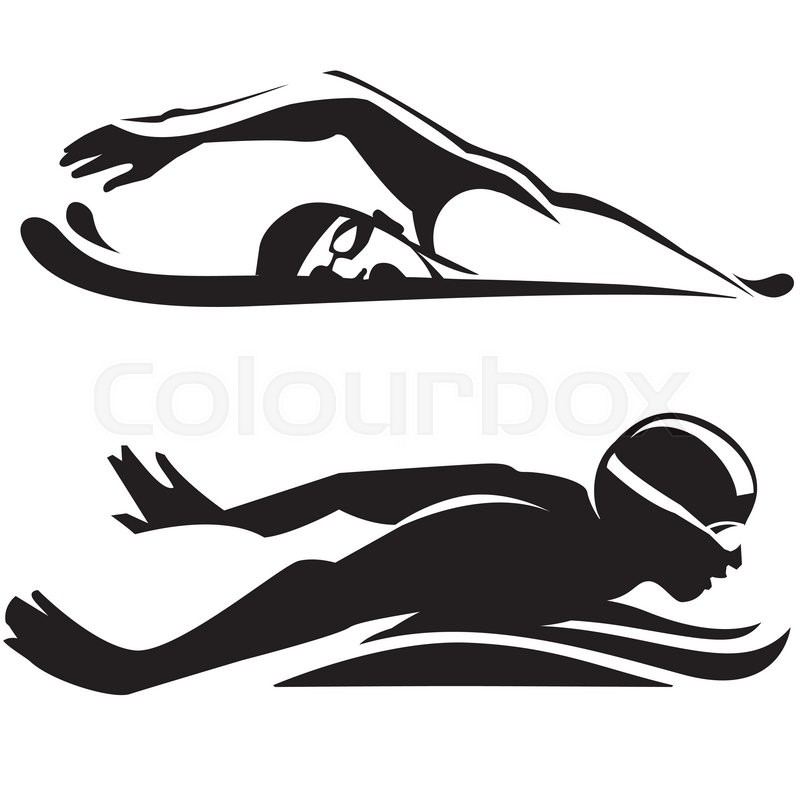 800x794 Sport Swimming. Vector Collection Stock Vector Colourbox