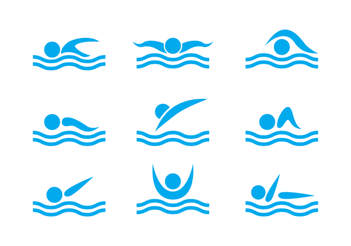 700x490 Swimming Vector