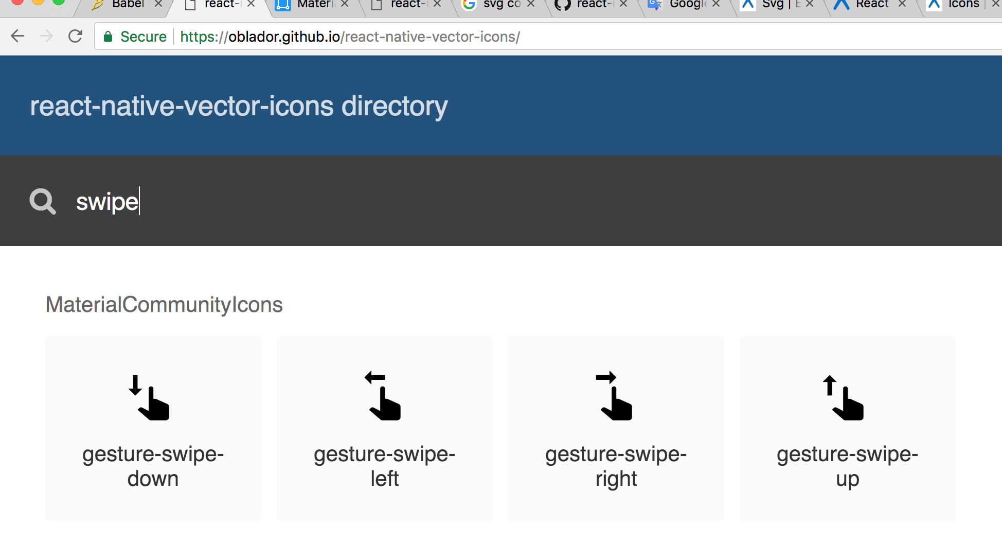 1948x1088 Gesture Swipe Icons Does Not Exist Even It Exists In Directory