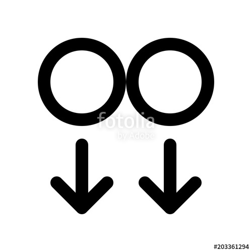500x500 Two Fingers Swipe Down Stock Image And Royalty Free Vector Files