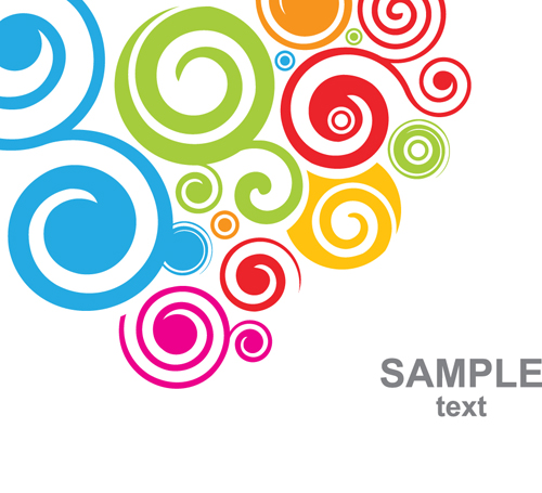 500x455 Colored Clipart Swirls ~ Frames ~ Illustrations ~ Hd Images