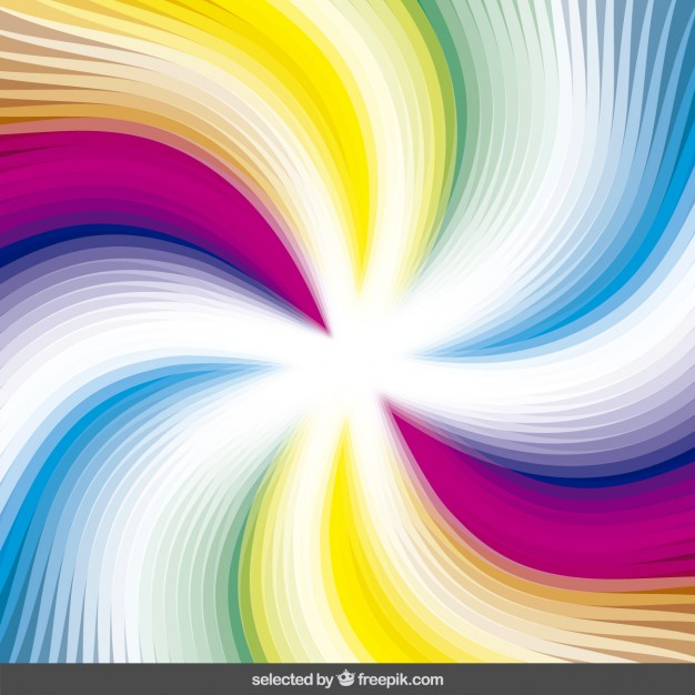 626x626 Colorful Swirl Background Vector Free Download