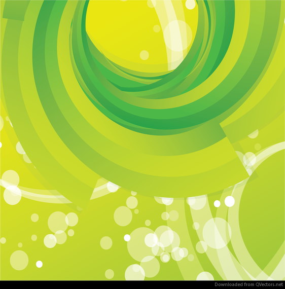 562x570 Free Vector Abstract Green Swirl Background