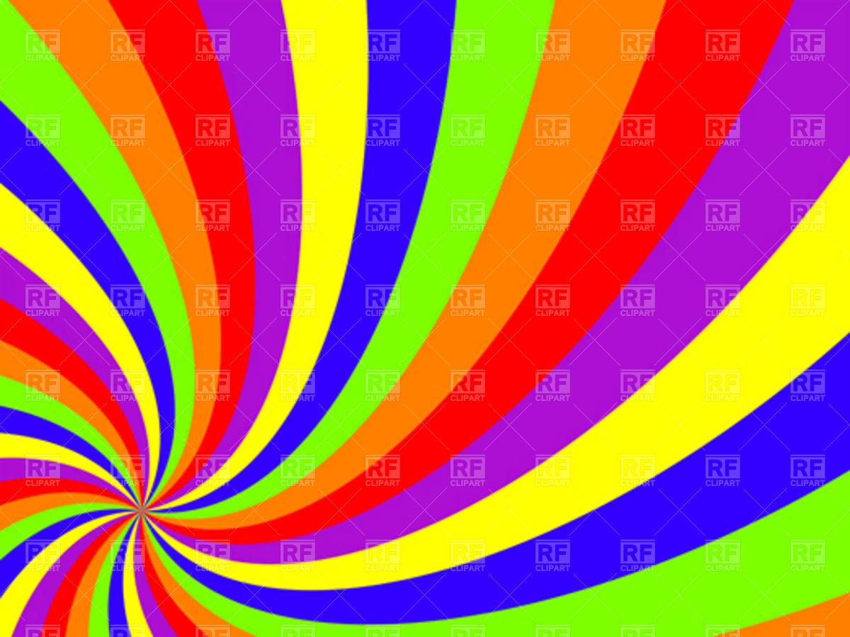 1200x899 Wavy Rainbow Swirl Background Vector Image Vector Artwork Of
