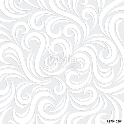 500x500 White Vector Swirl Background With Shadow Stock Image And Royalty