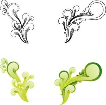 371x368 Illustrator Swirl Border Vectors Free Vector Download (223,505