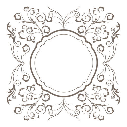 512x512 Collection Of Free Border Vector Ornamental. Download On Ubisafe
