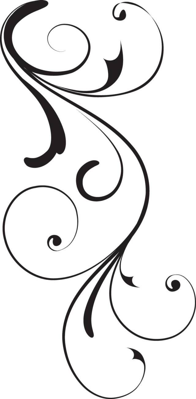 640x1299 Black Swirl Op X Image Vector Clip Art Online Royalty Free