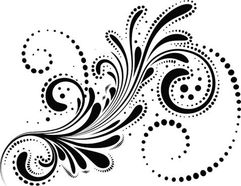 477x368 Swirl Decorative Line Separator Free Vector Download (31,862 Free