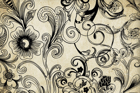 449x300 Handy Roundup Of Free Vector Ornaments Amp Flourishes