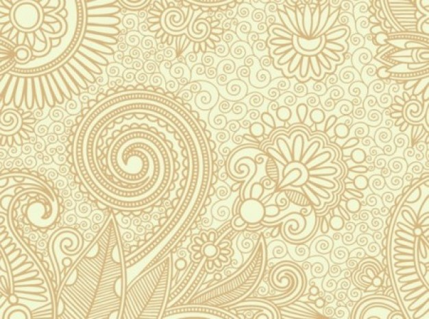 626x465 Swirl Pattern In Vintage Style Vector Vector Free Download