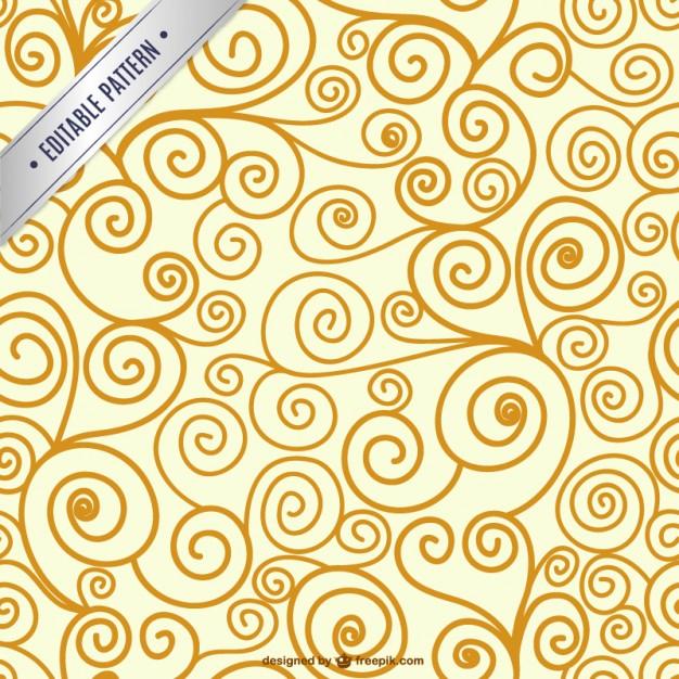 626x626 Editable Swirl Seamless Pattern Vector Free Download