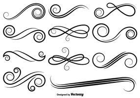 286x200 Elegant Swirl Free Vector Art