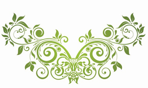 500x299 35 Free Vector Flourishes And Swirls For Inspiration