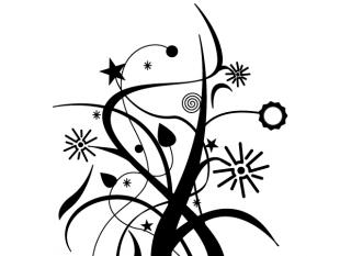 310x233 Swirl Floral Design Vector Art Free Vectors Ui Download