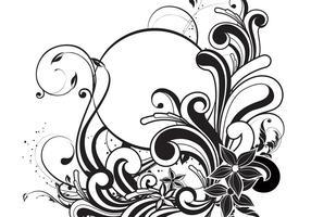 286x200 Swirls Free Vector Art