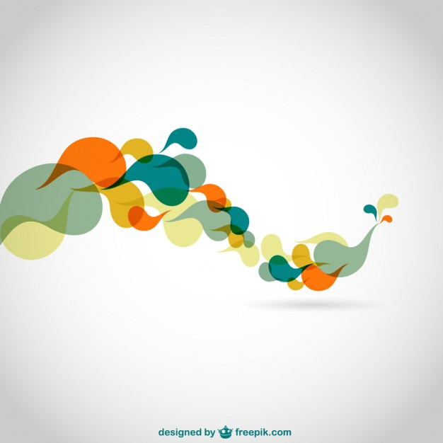 626x626 Abstract Color Swirls Vector Background Vector Free Vector