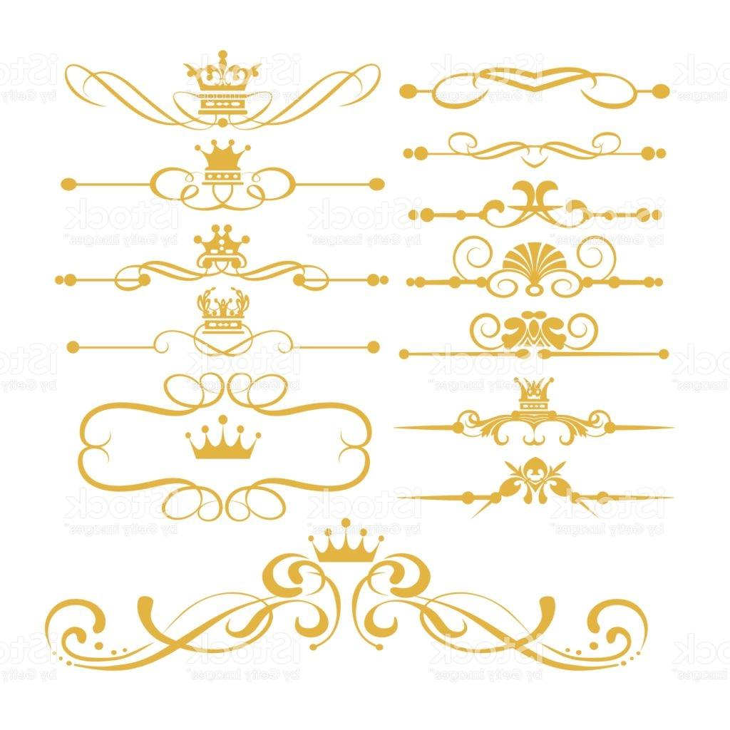 1024x1024 Best Free Gold Royal Borders And Swirls Vector Images