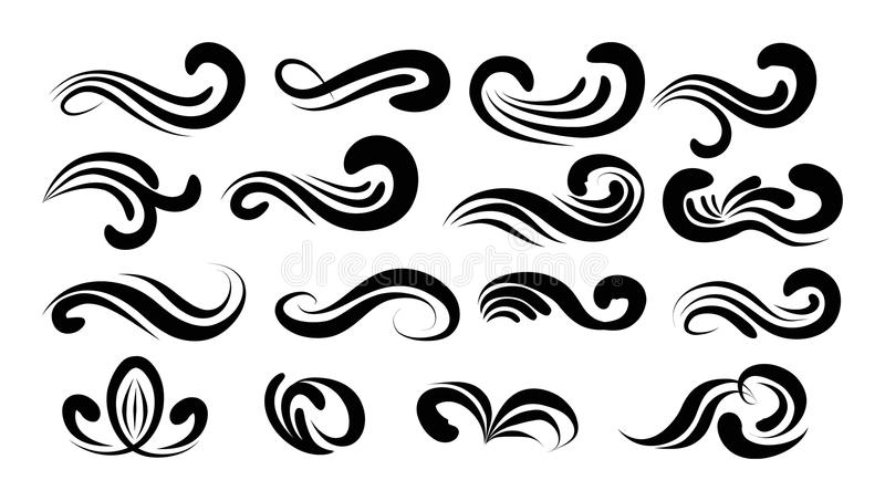 800x453 Collection Of Free Curled Clipart Swirly. Download On Ubisafe