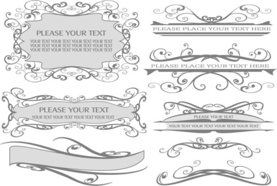 547x368 Vector Swirly Line Border Free Vector Download (14,709 Free Vector