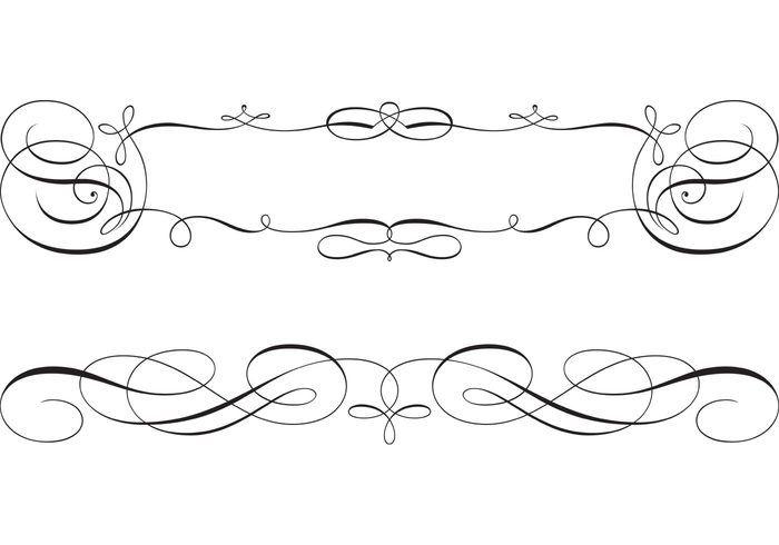 700x490 Frame Gratuito Scroll Swirly Y Vectores De Frontera Marcos Y