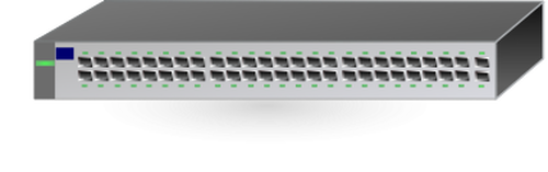 500x157 Hp Network Switch Hub Vector Image Public Domain Vectors