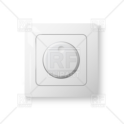 400x400 Dimmer Power Switch Vector Image Vector Artwork Of Signs