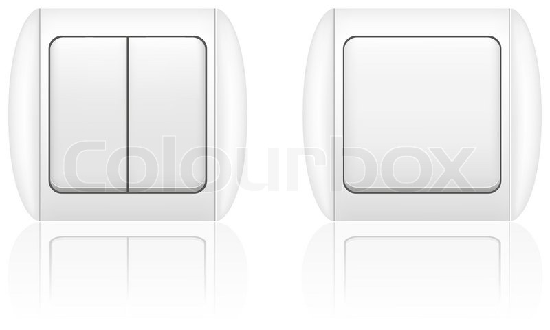 800x480 Electric Light Switch Vector Illustration Stock Vector Colourbox