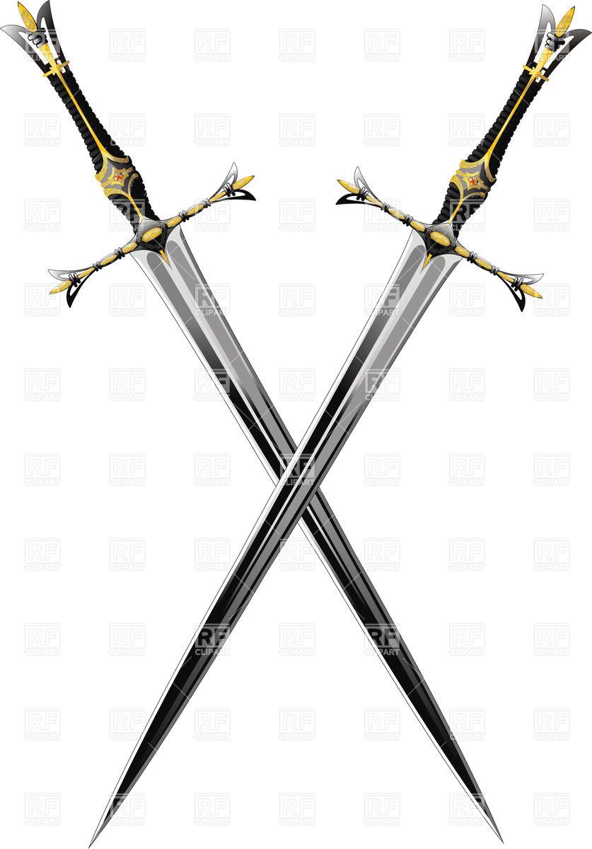 837x1200 Battle Clipart Crossed Sword