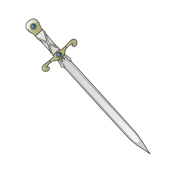 600x600 Collection Of Free Sword Vector Thin. Download On Ubisafe