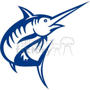 300x300 Royalty Free Swordfish Vector Outline 388479 Vector Clip Art Image
