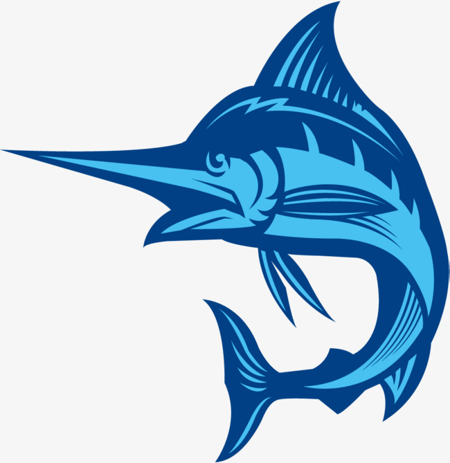 650x669 Blue Swordfish, Blue Vector, Jumping Fish, Jump Up Png And Vector