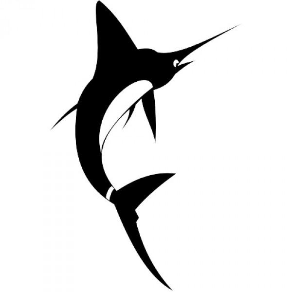 600x600 Free Swordfish Vector