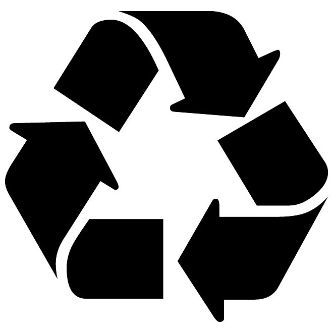 660x660 Recycling Vector Symbol