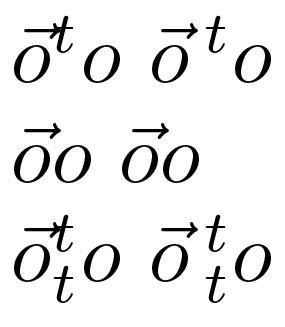 285x327 Vector Arrow With Superscript