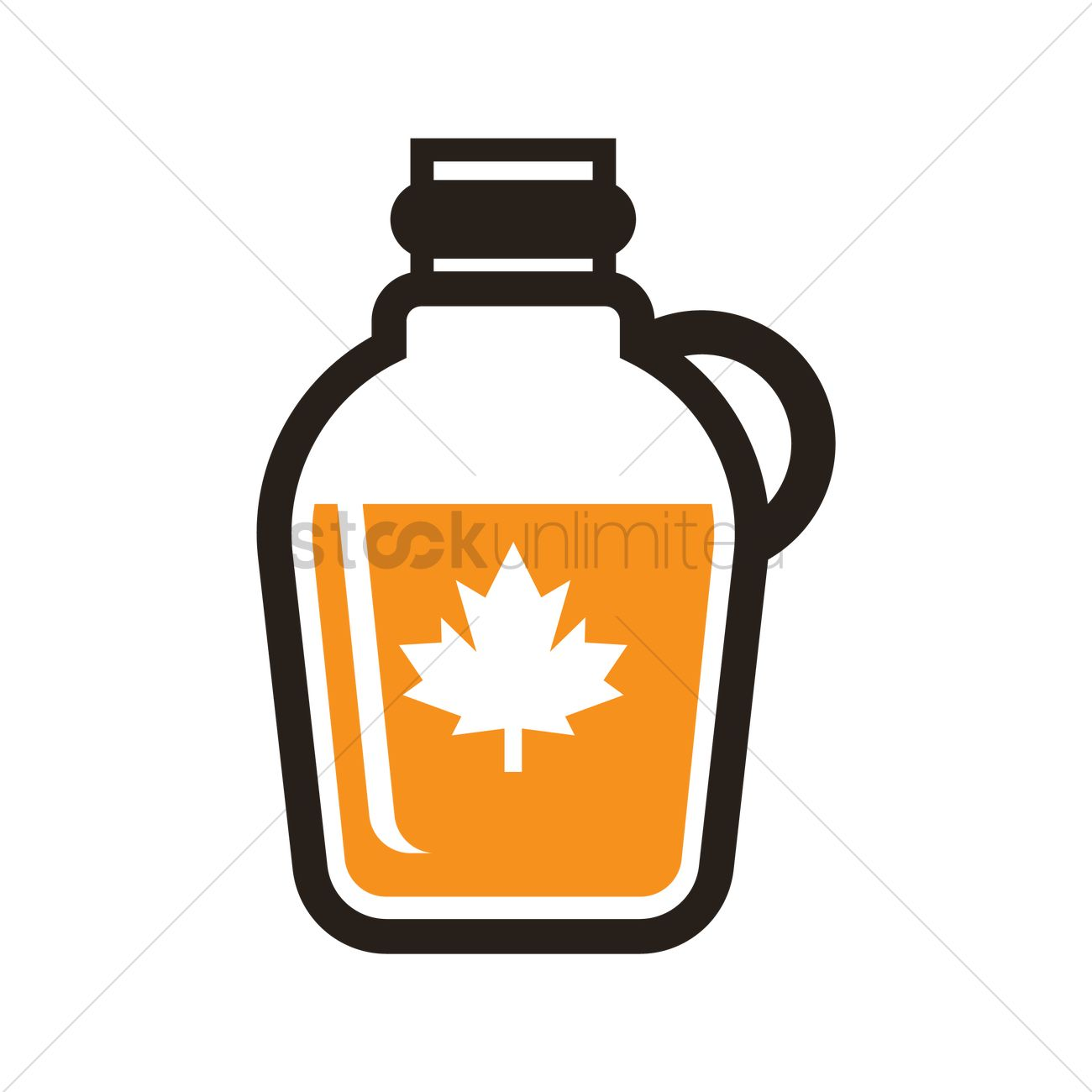 1300x1300 Maple Syrup Vector Image