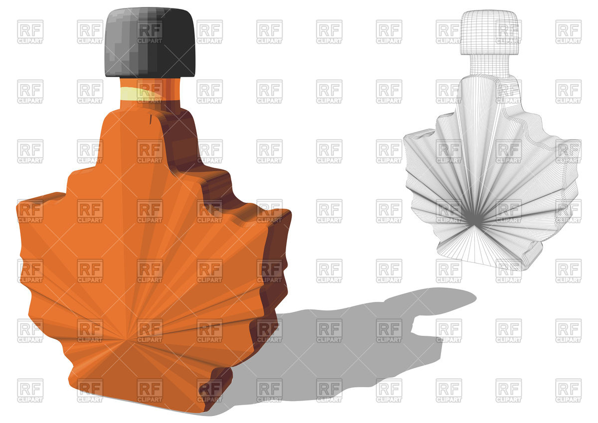 1200x849 Maple Syrup Vector Image Vector Artwork Of Food And Beverages