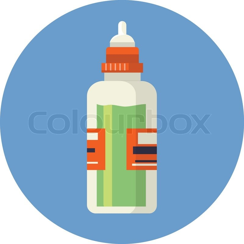 800x800 Vector Bottle With Medical Syrup Stock Vector Colourbox