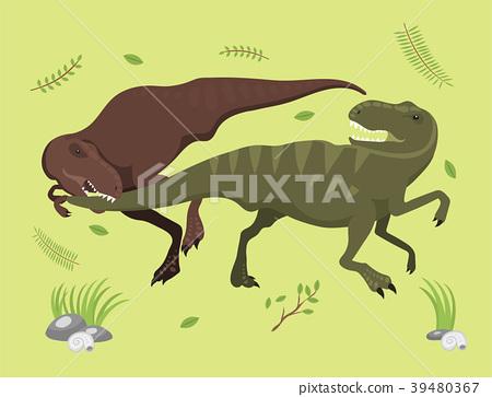 450x363 Scary Dinosaurs Vector Tyrannosaurus T Rex Danger
