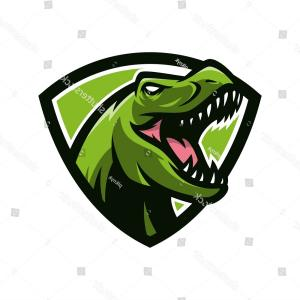 300x300 Stock Illustration T Rex Logo Vector Jurassic Sohadacouri